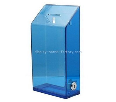 Customize wall mounted blue voting box NAB-1132