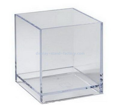 Customize square clear acrylic display case NAB-1153