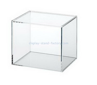 Customize square clear acrylic display case NAB-1154