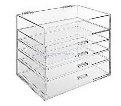 Customize acrylic 5 drawers box NAB-1161
