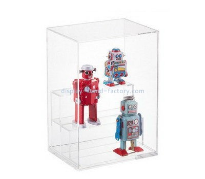 Customize three tiered acrylic display case NAB-1166