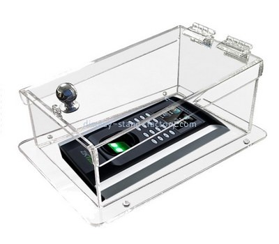 Customize clear acrylic visual intercom protector case NAB-1181