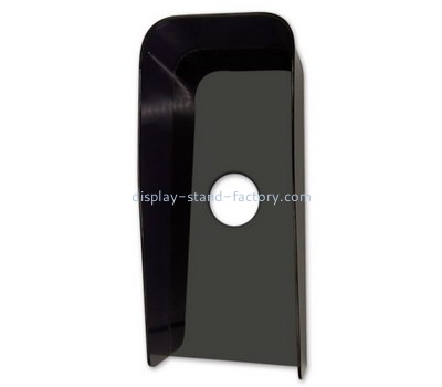 Customize black acrylic visual intercom protector cover NAB-1182