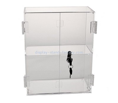 Custom acrylic locking display cabinet NAB-1186