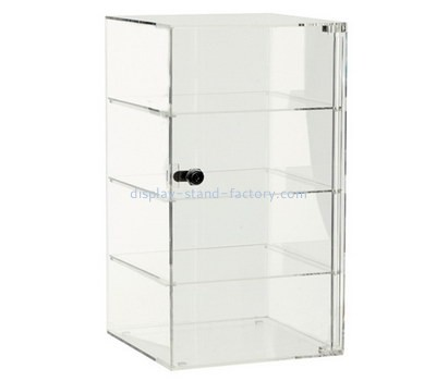 Custom clear acrylic 4 tier showcase cabinet NAB-1192