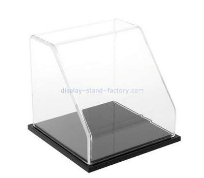 Custom front slanted acrylic display case NAB-1212