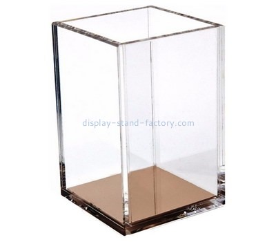Custom square acrylic pen holder NAB-1213