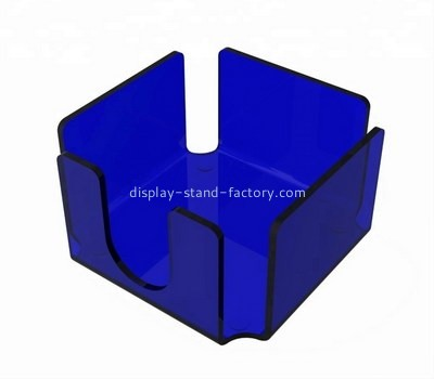 Custom blue acrylic momo block holder NAB-1226