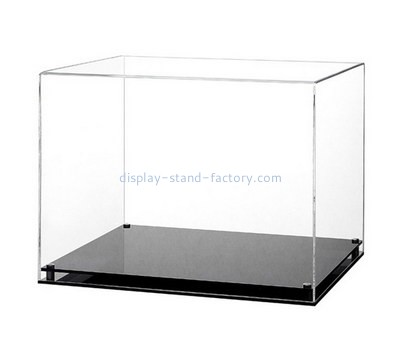 Custom 5 sided acrylic display case NAB-1257