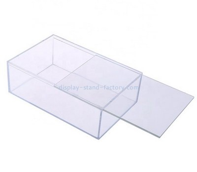 Custom acrylic sliding lid box NAB-1284