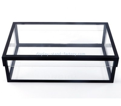 Custom acrylic box with black frame NAB-1329