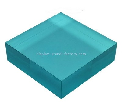 Custom blue acrylic display block NBL-008