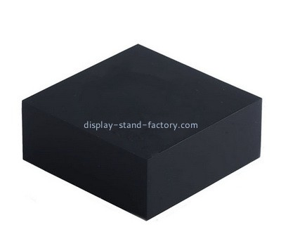 Custom black acrylic block NBL-030