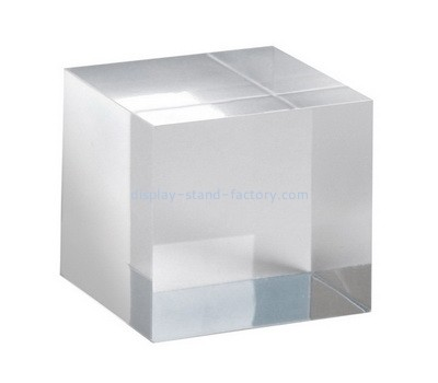 Custom acrylic display cube NBL-031