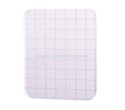Custom acrylic stamping block with grids lines NBL-066