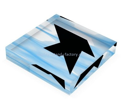 Custom plexiglass UV printing photo block NBL-164