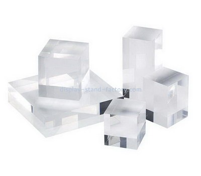 Custom laser cutting acrylic display cubes NLC-027