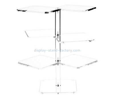 Custom 4 tiers acrylic display stands NFD-246