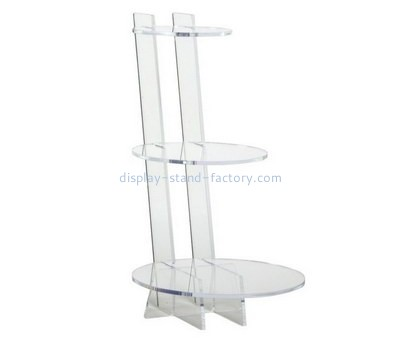 Custom 3 tiers acrylic cake display stands NFD-248