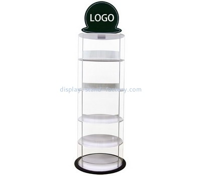 Custom 5 tiers round acrylic cake display stands NFD-272