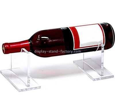 Custom acrylic wine bottle display holder NFD-294