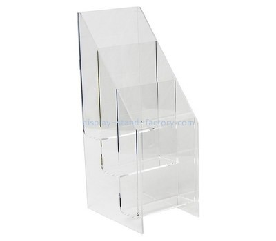 Custom 3 tiers acrylic literature holder NBD-623