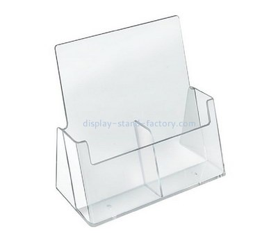 Custom 2 grids acrylic pamphlet holder NBD-627